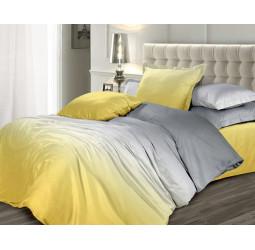 Постельное белье «Унисон сатин Омбре» Желтый шафран