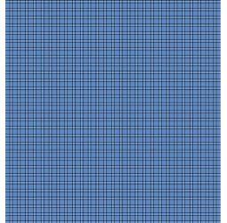 Наволочка бязь (125г) КЛЕТКА СИНЯЯ   (50х70)