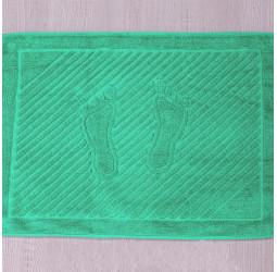 Полотенце махровое 'ножки'   (50х70) МЯТНОЕ