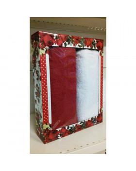 Подарочный набор полотенец -1