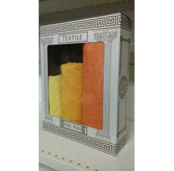 Подарочный набор полотенец -7
