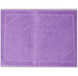 Полотенце махровое 'ножки'   (50х70) СИРЕНЕВОЕ