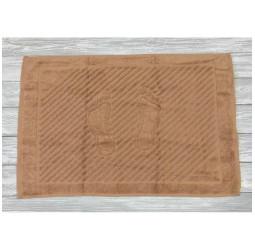 Полотенце махровое 'ножки'   (50х70) ЖАРЕНЫЙ ОРЕХ
