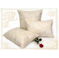 Подушка из лебяжьего пуха   (40х60) чехол-тик