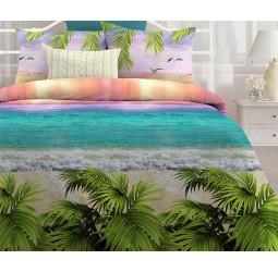 Постельное белье «Любимый дом» Лазурный океан